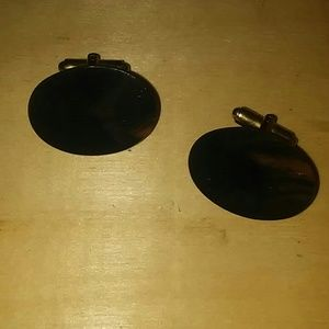 Other - Vtg. Natrual Stone CUFF-LINKS
